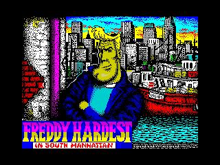 Freddy Hardest en Manhattan Sur (Freddy Hardest en Manhattan Sur)