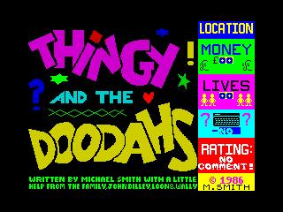 Thingy and the Doodahs (Thingy and the Doodahs)