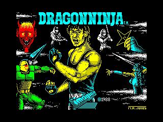 Dragon Ninja  (Dragon Ninja )