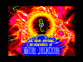The Hair-Raising Adventures of Mr Hair (The Hair-Raising Adventures of Mr Hair)