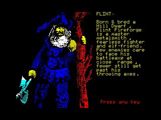 Heroes of the Lance - Flint (Heroes of the Lance - Flint)