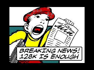 Breaking News! 128K is Enough (Breaking News! 128K is Enough)