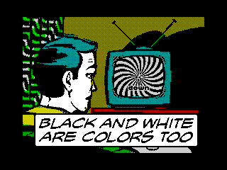 Black And White Are Colors Too (Black And White Are Colors Too)