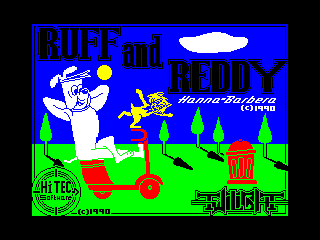 Ruff and Reddy in the Space Adventure (Ruff and Reddy in the Space Adventure)
