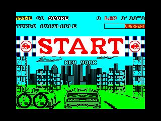 Turbo Out Run start (Turbo Out Run start)