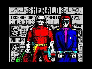 Techno Cop ending (Techno Cop ending)