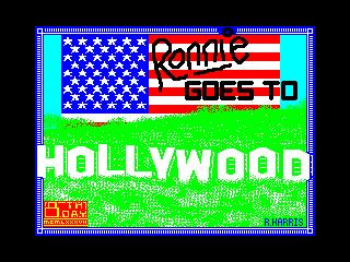 Ronnie Goes to Hollywood (Ronnie Goes to Hollywood)