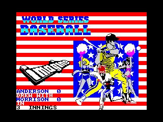World Series Baseball (World Series Baseball)
