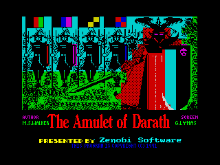 Amulet of Darath, The (Amulet of Darath, The)
