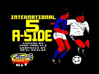 International 5-a-Side Football (International 5-a-Side Football)
