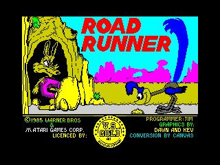 Road Runner title (Road Runner title)