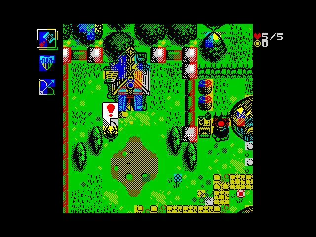 Fantasy Warrior 2 ZX