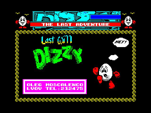 Last Will Dizzy