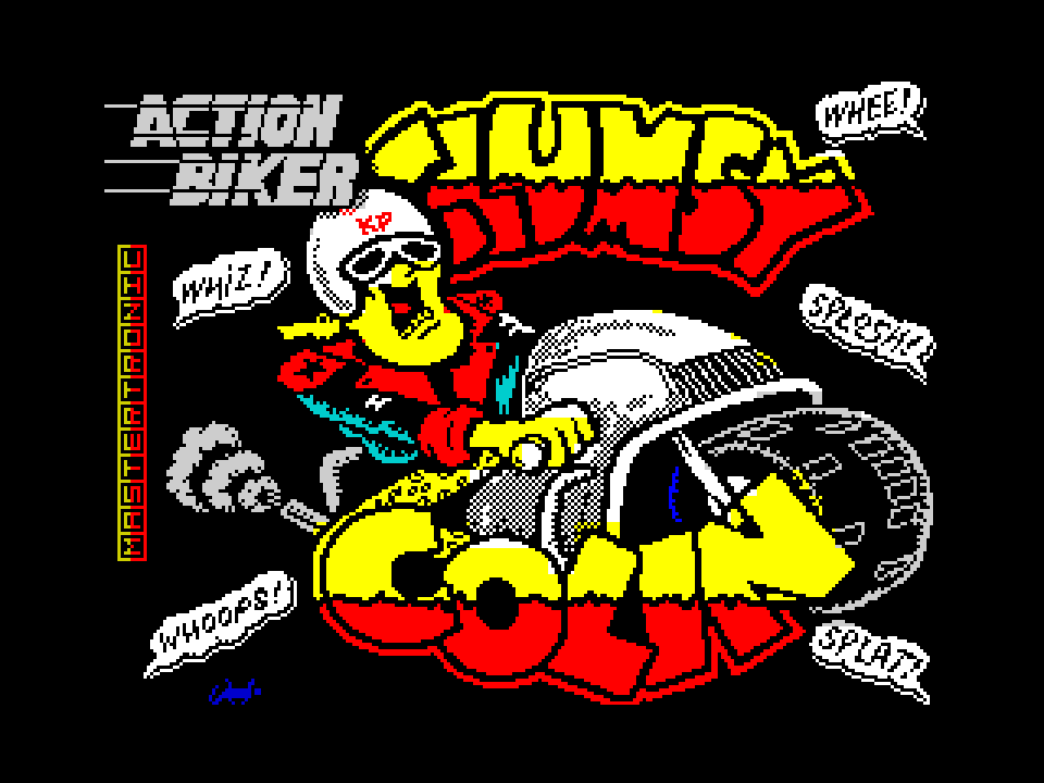 Action Biker Clumsy Colin