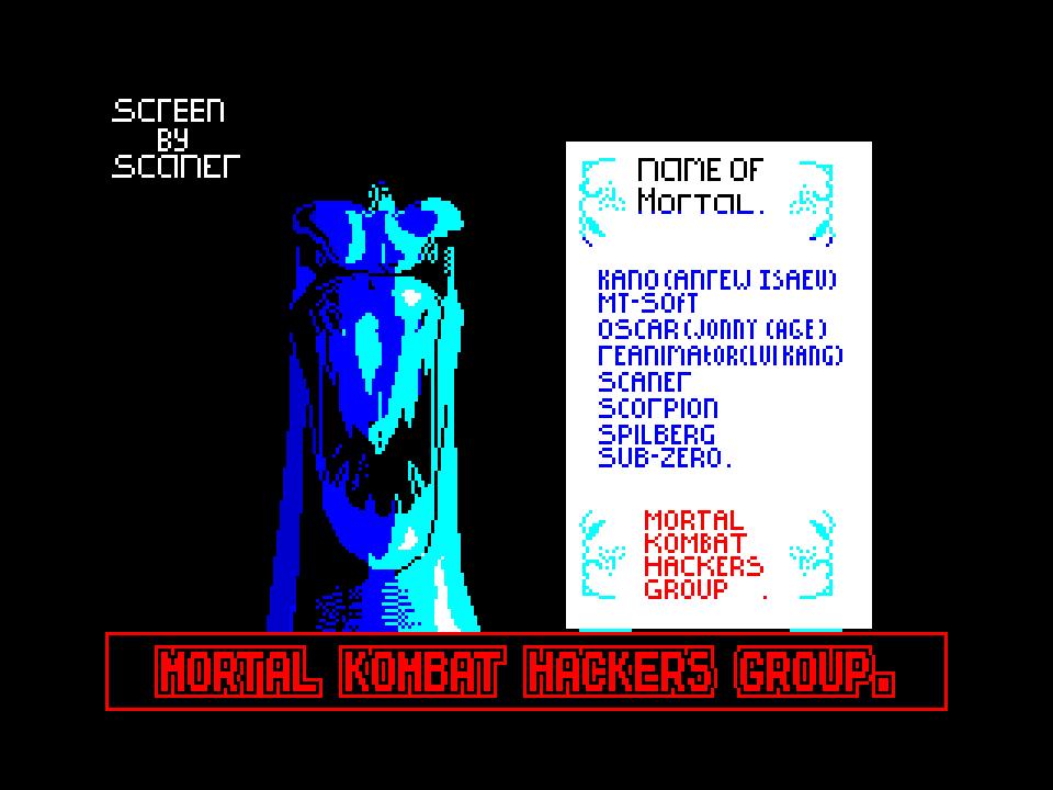 Mortal Kombat Hackers Group
