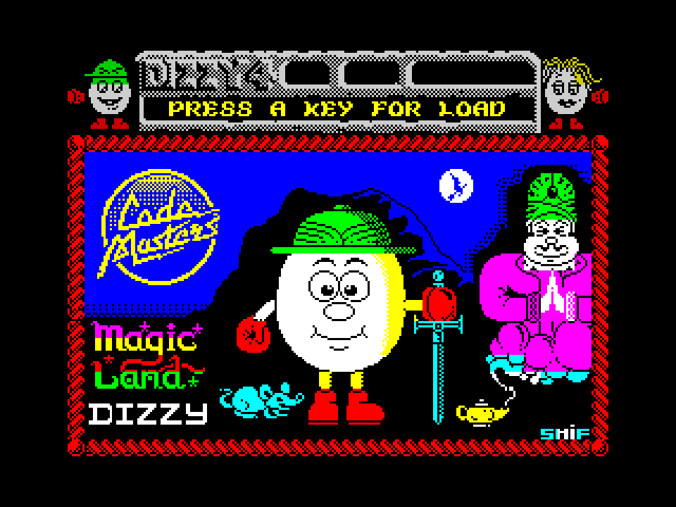 Magic Land Dizzy