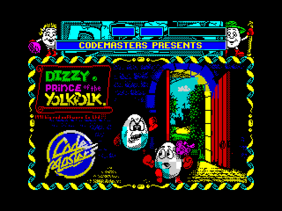 Dizzy, Prince of the YolkFolk