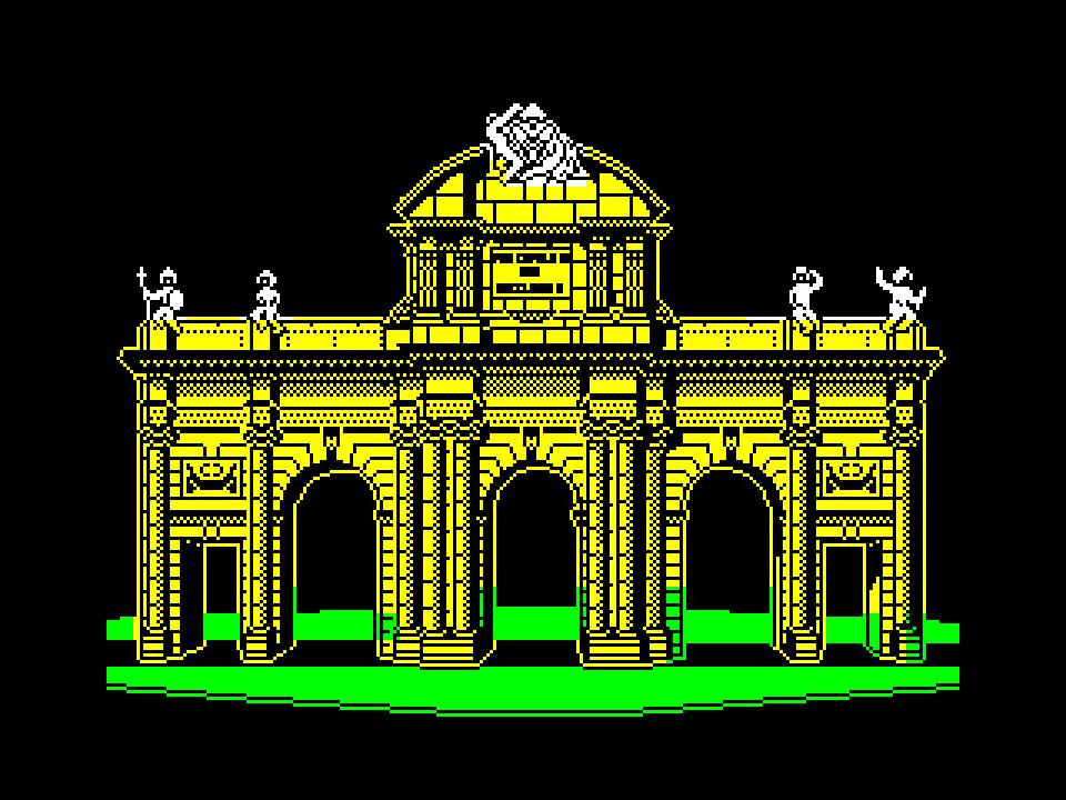 Madrid. Puerta de Alcalá Gate