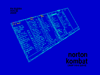 Norton Kombat loading screen (Norton Kombat loading screen)