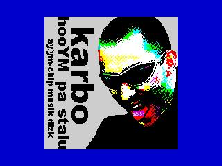 HooYm pa stalu Karbo's Muzaka Disk logo (finished unrelized version)