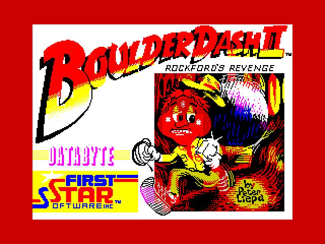 Boulder Dash II Rockford's Revenge