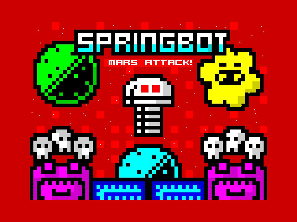 Springbot - Mars Attack!