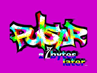 pulsar 27 bytes later (pulsar 27 bytes later)