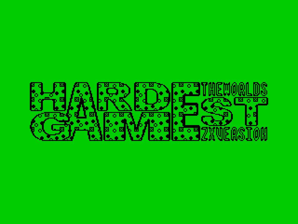 The World's Hardest Game Logo