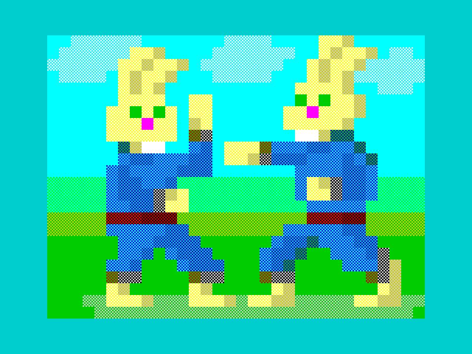 Rabbits karate