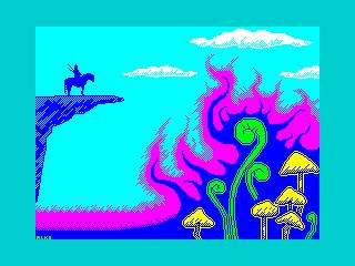 Knight in Mushroom Valley (Knight in Mushroom Valley)