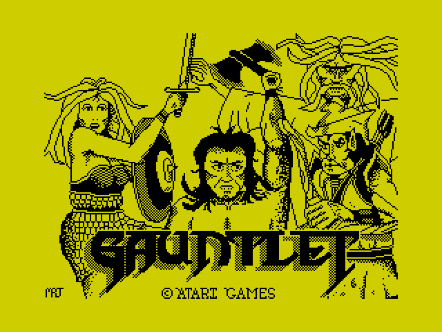 Gauntlet (Early and unpublished)