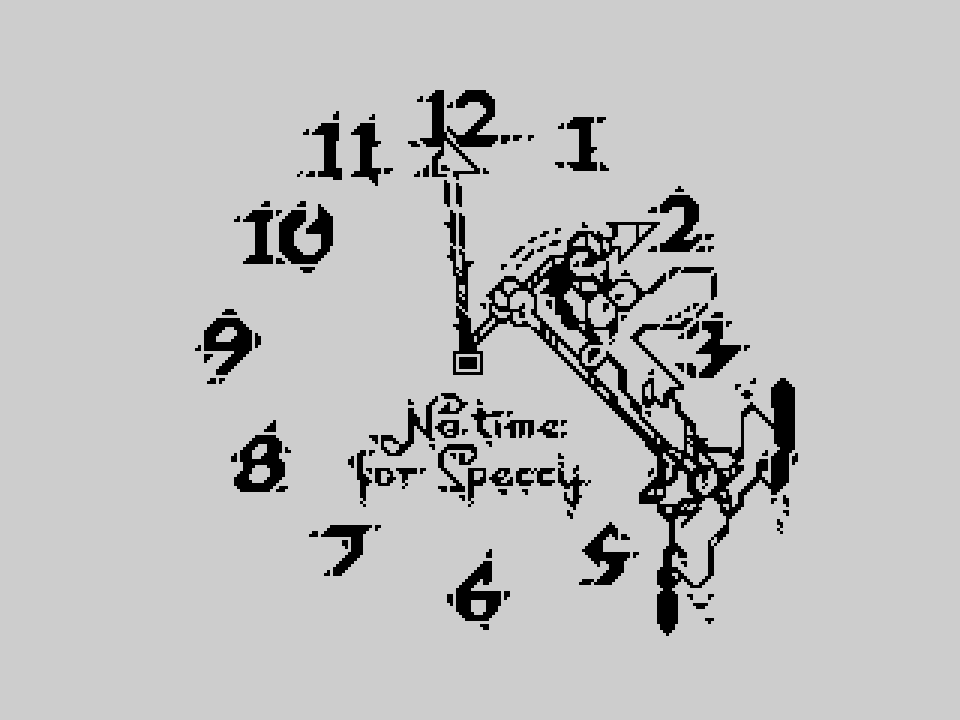 No Time for Speccy
