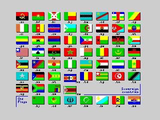 Flags of the World 1982-2012 - Africa (Flags of the World 1982-2012 - Africa)
