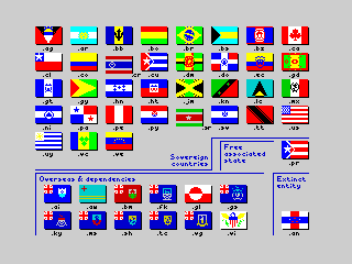 Flags of the World 1982-2012 - The Americas (Flags of the World 1982-2012 - The Americas)