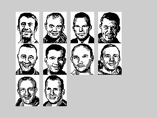 Ad Lunam Plus astronauts portraits (Ad Lunam Plus astronauts portraits)