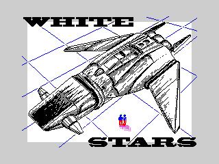 White stars spaceship (White stars spaceship)