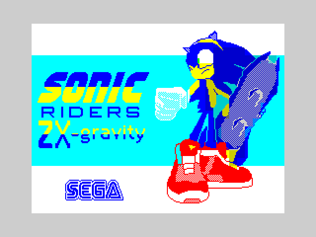 Sonic Riders ZX-gravity 2
