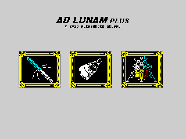 Ad Lunam Plus difficulty selection (USA)