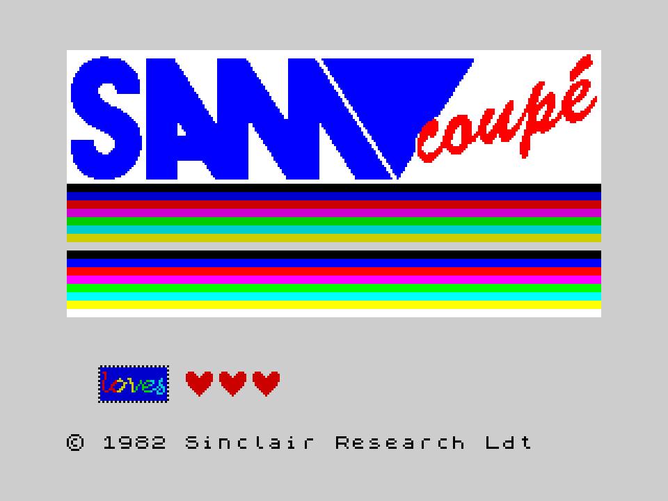 SAM loves Speccy