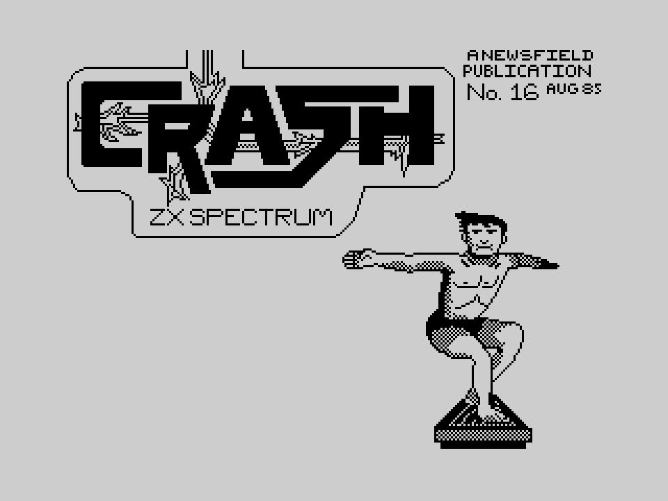 Crash sign 85