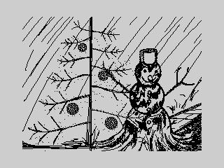 Деревянный снеговик (Деревянный снеговик)