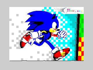 Go Sonic, go!
