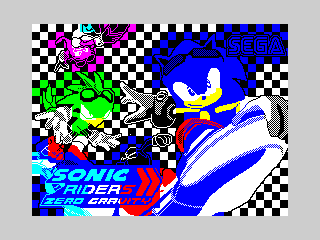 Sonic Riders ZX-gravity 3 (Sonic Riders ZX-gravity 3)