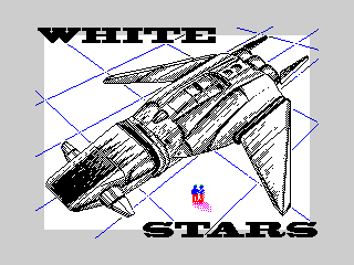 White stars spaceship (White stars spaceship)