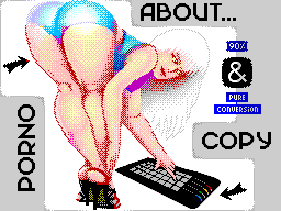our thoughts about porno and copy