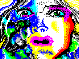 Radioactive woman