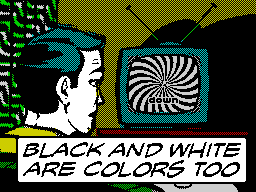 Black And White Are Colors Too