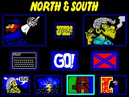 North and South - Menu