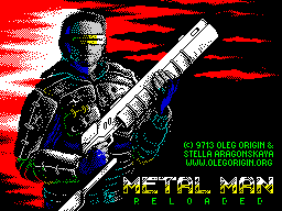 Metal man reloaded - loading screen