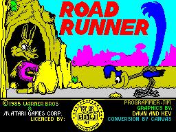 Road Runner title